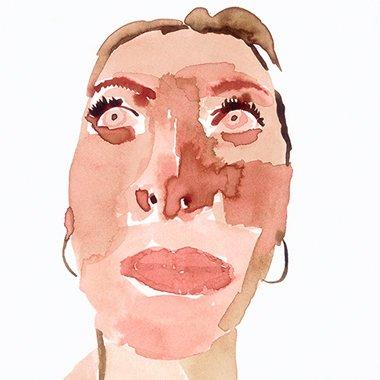 ink on paper by Melinda Marshman