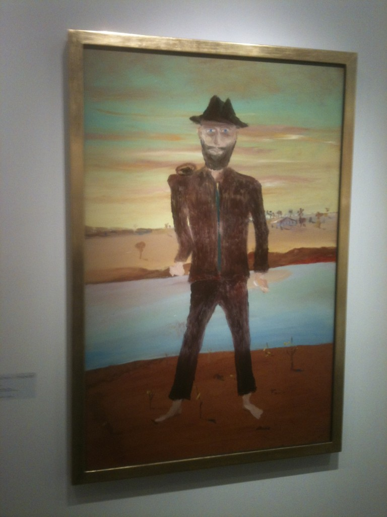 painting by Sidney Nolan