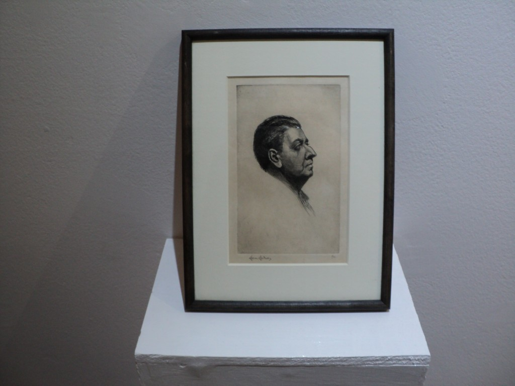 etching by Lionel Lindsay