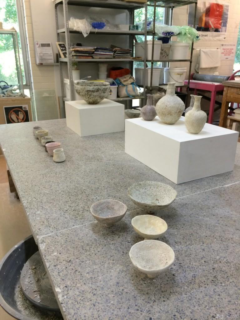 recent studio visit with Alana Wilson