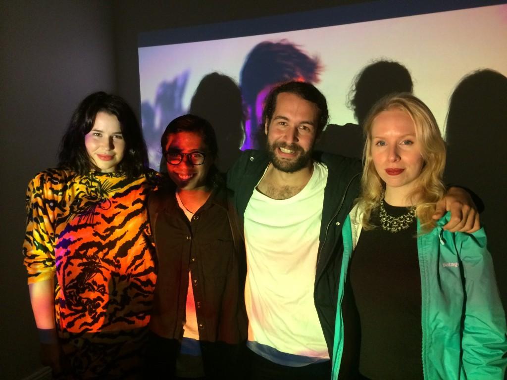 Alice Joel, Akil Ahamat, Michael Filocamo and Christina Giuffrida.