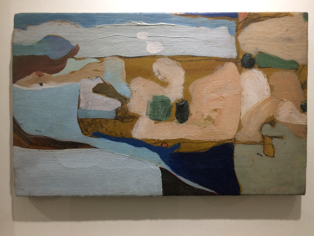 Michael Johnson, Abstract Landscape, oil on canvas, 1962