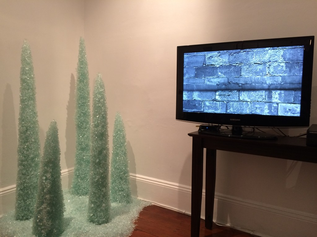 glass art and video by Ngaio Fitzpatrick