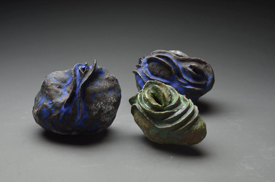 Ceramics by Hidemi Tokutake