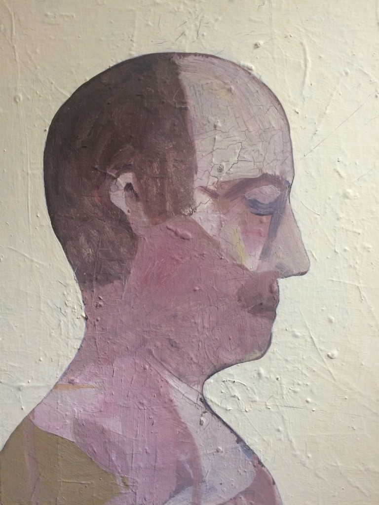 Patrick Hartigan, Charted, 2013, oil on canvas.