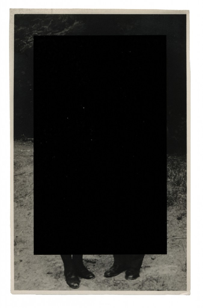 Jack Banduch, Star Crossed #8, 2014, Pigment Print on Found Photograph