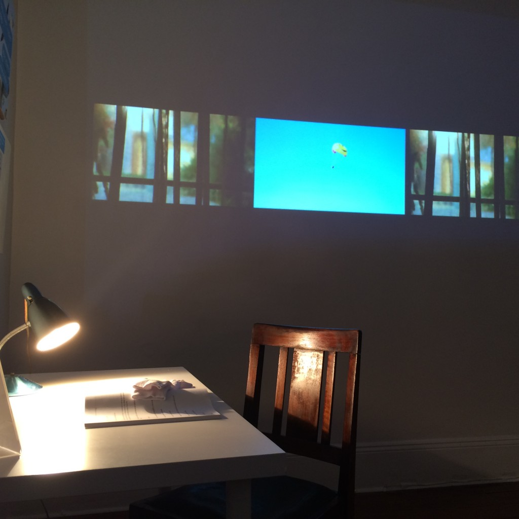 installation and video by Lauren Bonner