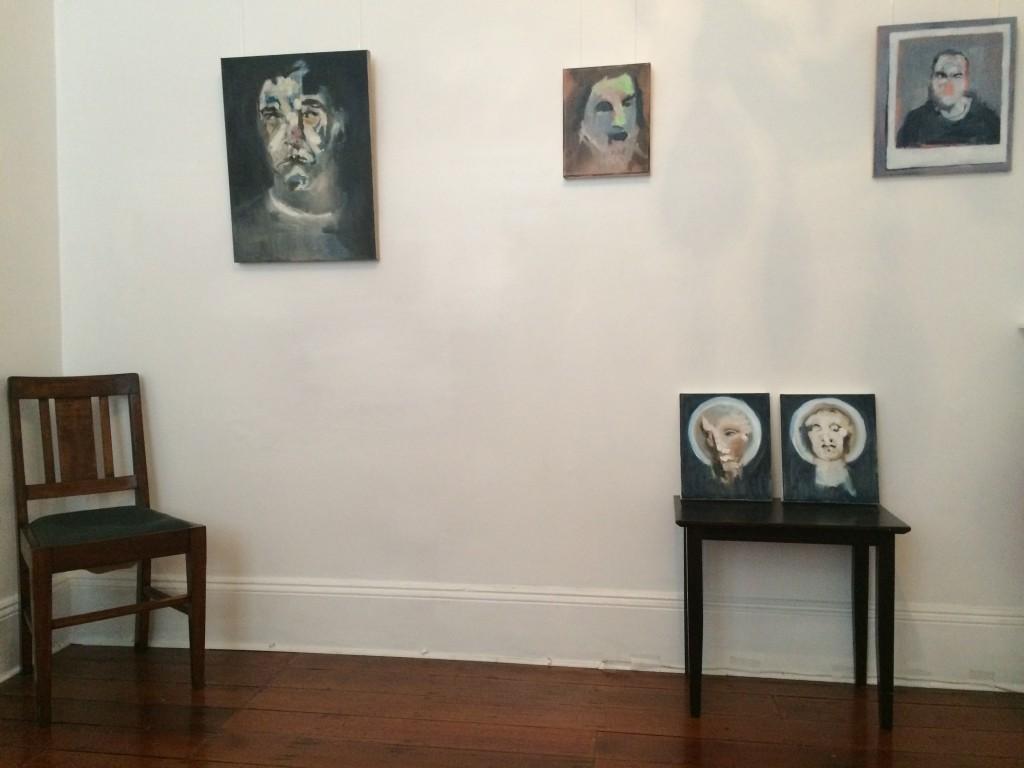 Paintings by Lisa Kotoulas